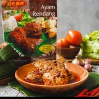 Daging Ayam Dena Rasa Rendang / Sambal Balado Halal 500gram
