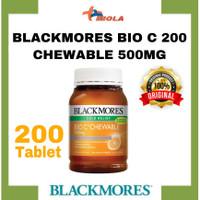 BLACKMORES BIO C 200tab CHEWABLE 500MG Vitamin c ORIGINAL AUSI