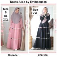 Dress Alice Size XXL -Hanya Dress- Gamis Pesta Syari by Emmaqueen