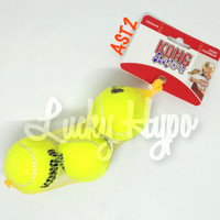 Mainan Anjing Kong Squeakair Tennis Ball Medium isi 3pcs