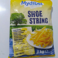 Mydibel shoestring 1 kg kentang goreng french fries