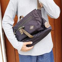 TAS Selempang Portbridge|Shoulder Bag EIGER 13L - Black