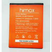Baterai Handphone Himax Polymer Pure 3S H Classic M20i KLB210N340 Orig