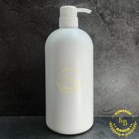Botol Pump 1 Liter HDPE/Botol Pump 1000ML/Botol Plastik