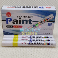 TOYO SPIDOL BAN YELLOW KUNING STABILO SPIDOL CAT SPIDOL MARKER PAINT