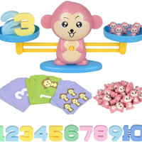 Monkey Balance Counting Toys for Boys & Girls Education