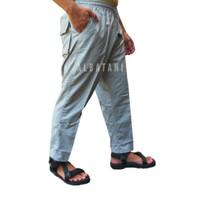 Celana sirwal pangsi panjang slim fit