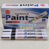 TOYO SPIDOL BAN BLACK HITAM SPIDOL CAT SPIDOL MARKER PAINT