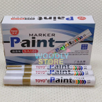 TOYO SPIDOL BAN GOLD EMAS SPIDOL CAT SPIDOL MARKER PAINT