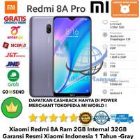 Xiaomi Redmi 8A PRO 2GB/32GB 8Apro 8 a 2/32GB 2/32-Garansi-Resmi-Gray