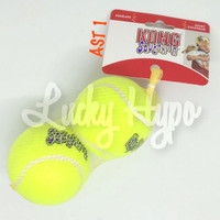 Mainan Anjing Kong Squeakair Tennis Ball Large isi 2pcs / AST1