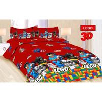 Sprei Bonita Size King 180 x 200 Motif Lego