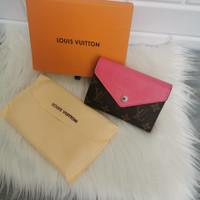 Dompet LV Marie Lou free box premium quality dompet wanita dompet lv