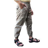 Celana sirwal panjang jogger slimfit