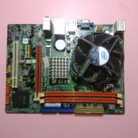 MOTHERBOARD ECS LGA 775 G41 DDR3 + C2D E7500 + FAN