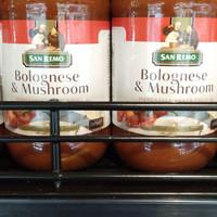 san Remo bolognese & musroom