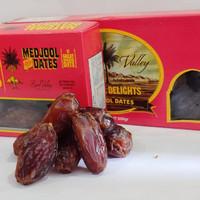 Kurma Medjool Dates California 500gr/Natural Delight Jumbo