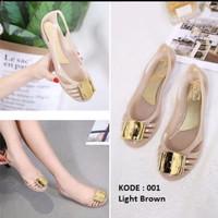 jelly shoes 001-flat shoes-sepatu wanita