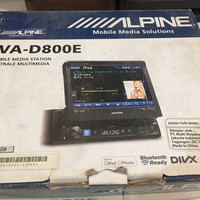 Alpine dvd single din D800 tertinggi cooper