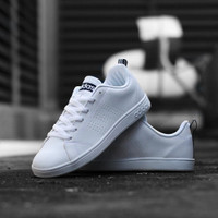 Adidas Original Neo Advantage Clean White Navy - 40