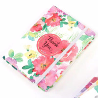 A7 Notebook Hardcover Motif Bunga utk Diary/Daily Planner/Agenda ♡