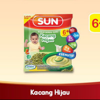 SUN Bubur Sereal Susu Kacang Hijau Sashet 20 gr isi 8
