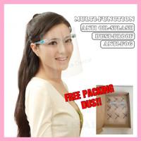 Dental face shield mask anti fog medical frame + visor protection