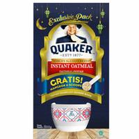 Quaker oat instant 800gr+ bowl+ scope