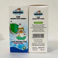 Shampoo Anti Kutu Amanda 60ml