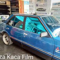Kaca film Biru ukuran Avanza Sigra sedan
