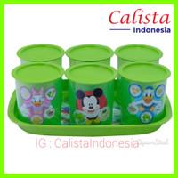 Calista Nato 7Pcs/Set / Toples nampan/ Toples kue/ Toples lebaran