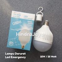 Lampu Led 25W + Led Emergency SX25W