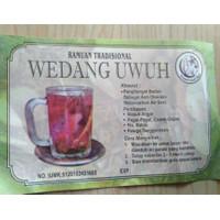 minuman tradisional wedang uwuh ( wedang rempah )