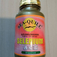 seaquill sea quill selenium ace 30 sg BPOM