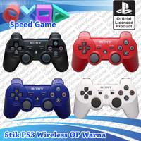 Stick Stik PS3 Wireless Original Ori Pabrik Warna