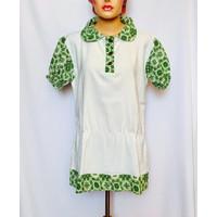 baju atasan putih wanita muslim xl blouse blus seragam nanny suster