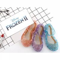 sepatu frozen jelly anak perempuan lucu berkualitas nyaman dan lembut