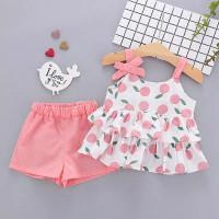 [PO] summer tank top baju set anak perempuan 0-3 tahun