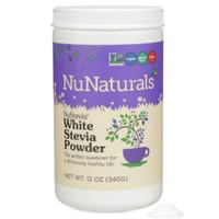 nunaturals white Stevia powder 340gram bebas gula rendah kalori