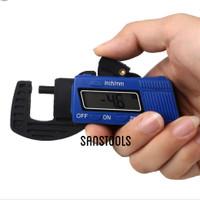 Digital thickness gauge caliper micrometer thicknes gage ukur tebal
