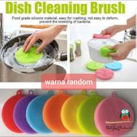 Spons cuci piring silikon multifungsi / Dish sponge silicone