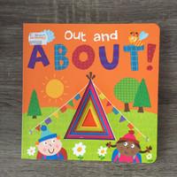 Out & About Boardbook Hardbook Buku Cerita Anak Impor
