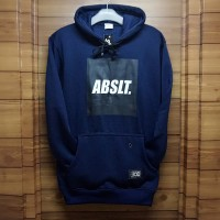 jaket hoodie ABSLT. navy / absolut premium