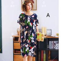 Daster Wanita 853 Baju Tidur Cewek Sleepwear Cantik Katun Premium HQ