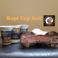 Kopi Cup Berontoseno cair 160ml ASLI   CREAM   MOCCA banded isi 3 cup