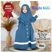 Gamis Anak Usia 3-4 Tahun Baju Muslim Anak Perempuan NAYLA KIDS