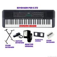Paket Keyboard PSR E 273 Yamaha original