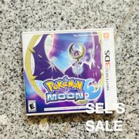 Pokemon Moon Nintendo 3DS Game Pokemon Sun and Moon
