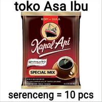 Kopi Kapal Api special mix (+gula) serenceng @ 25 g