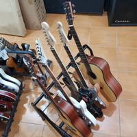 Rak Gitar Stand Gitar Isi 5 Universal Elektrik Akustik Bass ORIGINAL